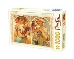 Puzzle D-Toys Flores y Frutas de 1000 Piezas