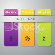 Vector illustration of business infographics 3 options royalty-free stock vector art