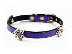 Mora Pets Cute Flower Designer Collar -- Continue to the product at the image link. (This is an affiliate link and I receive a commission for the sales)