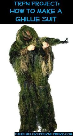 TRPN Project: How to make a Ghillie Suit