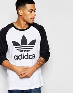 Adidas Originals - AP8982 - T-shirt à manches longues raglan
