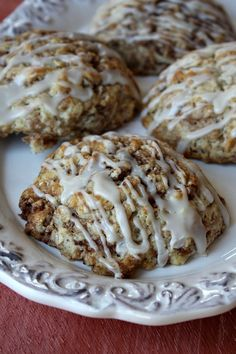 Cinnamon Bun Scones #breakfast #recipes