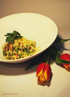 Kuchnia Wrze!: Risi e bisi, czyli Kukbuk w moim domu