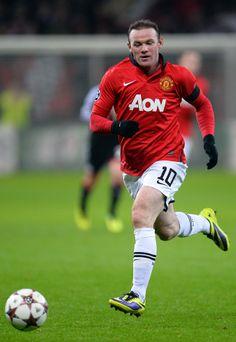 El prototipo del buen futbolista inglés: Wayne Rooney.
