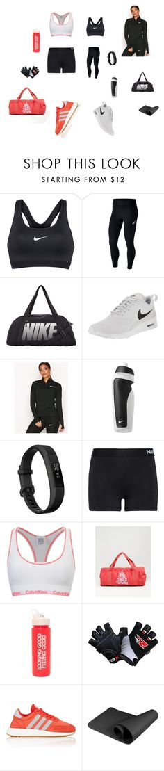 A fashion look from March 2018 featuring NIKE, mesh activewear and athletic sportswear. Browse and shop related looks. Active Wear, Sportswear, Calvin Klein, Essentials, Fashion Looks, Adidas, Athletic, Gym