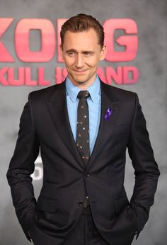 Tom Hiddleston at the LA premiere of Kong: Skull Island