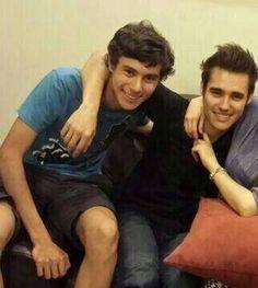 Los dos hermanos que Bellos se ven juntos... ;) Jorge y Daniel Blanco