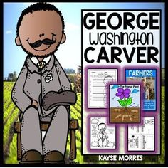 Do you have students who are interested in agriculture and inventions? This mini-unit is the perfect addition to a larger unit on one of those topics! George Washington Carver made wonderful contributions to modern society, and this mini-unit explores those contributions and his life with different types of engaging, fun, hands-on activities! Click through to learn more!