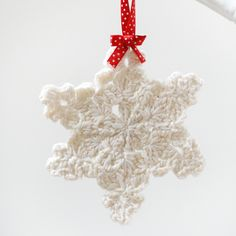crochet snowflake for sale