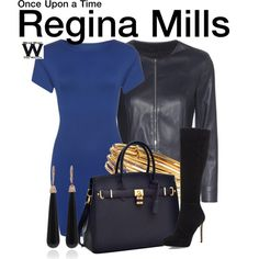 Inspired by Lana Parrila as Regina Mills on Once Upon a Time.