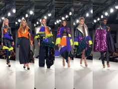 Another year in the front row for the Birmingham City University show during Graduate Fashion Week, and they just keep getting better.