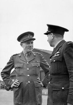 On this day, 21 August 1943, 70 years ago, General Andrew McNaughton, commander of 1st Canadian Army, arrived in Sicily to visit every 1st Canadian Division unit in a very busy six day schedule. PHOTO: General Andrew McNaughton, commander of Canadian 1st Army from April 1942 to December 1943, chats with his personal pilot, the Australian Squadron Leader Reid, after a tour of the Sicily battlefront. © IWM (CAN 3540)