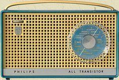 oh dear! Transistorradio Philips... mine was orange