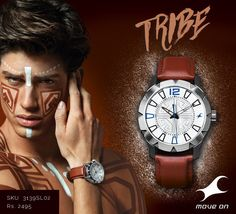 For those who conquer all. Your #Tribe is calling. http://fastrack.in/products/watches/sku-3139sl02/