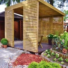 Whilst historic in concept, the pergola may be enduring somewhat of a current rebirth these Hot Tub Gazebo, Gazebo Pergola, Outdoor Seating, Outdoor Rooms, Outdoor Living, Back Gardens, Outdoor Gardens, Backyard Patio, Backyard Landscaping