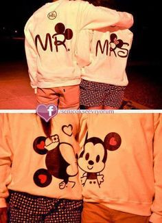 Mr. and mrs sweater!!!!!!! Perfection.