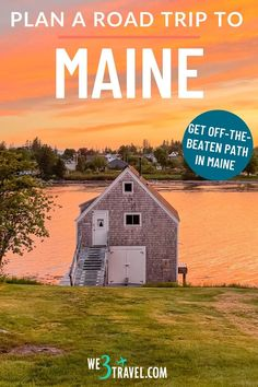 Use this Maine road trip to plan your trip to Vacationland this summer. Find out how to get off the beaten path and away from people in the Maine Highlands and Downeast and get the best of both worlds from lighthouses and rocky coast to moose, lakes, and Mt Katahdin. Acadia National Park, National Parks, Maine Road Trip, Baxter State Park, Mount Desert Island, New England Travel, Winter Mountain, Plan Your Trip, Lighthouses