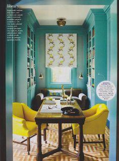 Katie Ridder...love The Room And Bookshelves