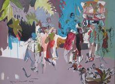 "Saatchi Art Artist Golnaz Afraz; Painting, ""Birth of light"" #art"