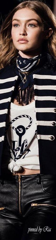 GiGi Hadid for Vogue l Editorial for Tommy Hilfiger Fall 2016 l Ria