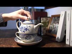 Porcelain Tea for one set - Floral - Pemberley Collection | Afternoon Tea | Afternoon Tea