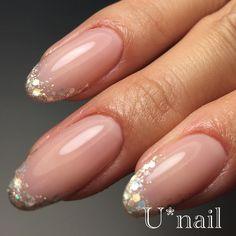 U*nailさんはInstagramを利用しています:「+* my nails . . maogel209 を薄く2度塗り、 maogel210 を重ねて完成のヌーディカラーがお気に入りです❤️ . . . +* . . . #Unail お問い合わせ LINE u.nail . ご予約お待ちしております . . .…」