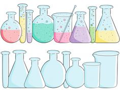Chemistry graphics are a great way to visually interest your students in science! This chemistry beaker clipart set is free and printable!