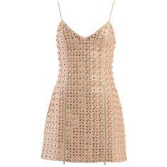 david-koma-slim-waisted-short-dress (3.333.630 CLP) ❤ liked on Polyvore featuring dresses, beige, lining dress, zipper front dresses, zipper front mini dress, zip front mini dress and lined dress