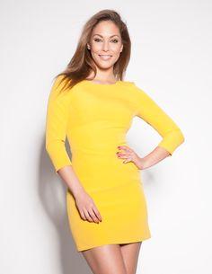 Főoldal - Art'z Modell Bodycon Dress, Garden, Dresses, Fashion, Vestidos, Yellow Dress, Moda, Body Con, Garten