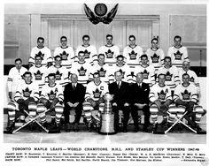 1947–48 Toronto Maple Leafs Hockey Stuff, Hockey Teams, Hockey Players, Ice Hockey, Team Pictures, Team Photos, Maple Leafs Hockey, Good Old Times, Toronto Maple Leafs