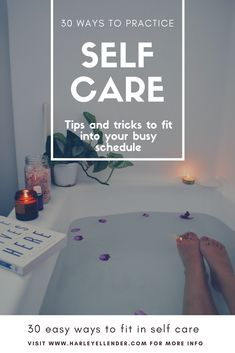 30 Ways to Practice Self-Care. Small acts of mindfulness can change your whole day around. Try some of these today to feel more energized, centered, and whole. Natural Face, Natural Hair Care, Natural Hair Styles, Natural Acne Remedies, Healthy Skin Care, Healing Herbs, Self Care, Health Tips, Healthy Living