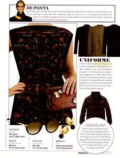 Na Revista Poder Joyce Pascowith, na nota Uniforme fala sobre a nova coleção Etiqueta Negra Mujer Inverno 2014.
