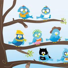 New free twitter icon set!