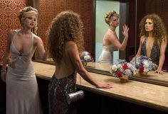"Jennifer Lawrence and Amy Adams in ""American Hustle."" (Columbia Pictures/courtesy Everett Collection)"