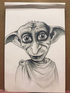 Pencil Art Drawings, Art Drawings Sketches, Disney Drawings, Cool Drawings, Sketch Art, Charcoal Art, Charcoal Drawing, Harry Potter Drawings, Cartoon Sketches