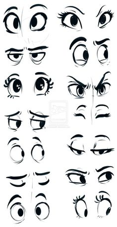 new Ideas drawing cartoon faces tutorials anime eyes Drawing Face Expressions, Drawing Cartoon Faces, Human Drawing, Cartoon Art Styles, Cartoon Sketches, Comic Drawing, Guy Drawing, Art Drawings Sketches, Drawing People