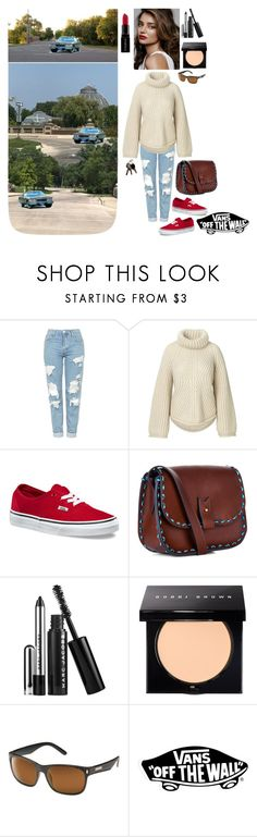 """""""Miranda - Saturday Morning In the Park, Spinning In the Fleetwood❤️👩🏻🕶👜👣🛣"""" by chrisiggy ❤ liked on Polyvore featuring Topshop, Vans, laContrie, Marc Jacobs, Bobbi Brown Cosmetics, Smashbox and SunCloud Polarized Optics"""