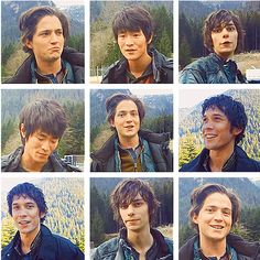 The 100 cast II Thomas McDonell (Finn Collins), Chris Larkin (Monty Green), Devon Bostick (Jasper Jordan) and Bob Morley (Bellamy Blake)