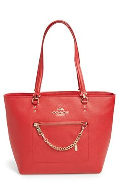 fun red Coach leather tote http://rstyle.me/n/wd49rr9te