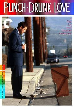 Punch Drunk Love.   Fake Criterion Blu Ray cover