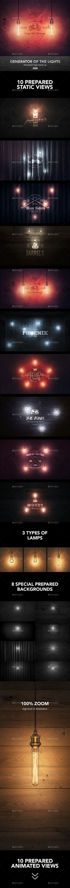 Creator Logo Mock-up / Lighting Edition. Download here: https://graphicriver.net/item/creator-logo-mockup-lighting-edition/17370055?ref=ksioks