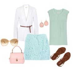Spring Pastels, created by meg-nash on Polyvore