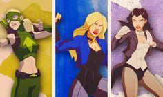 Artemis, Black Canary, & Zatanna