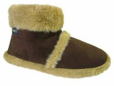 Keep Your Feet Super Cosy During The Colder Months With These Stylish Boot Slippers. Soft Faux Fur Cuff, Lining and Insole. Mens Boot Slippers, Stylish Boots, Slipper Boots, Faux Fur, Fashion Shoes, Warm, Shoe Bag, Brown, Coolers