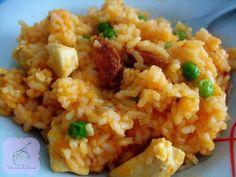Cómo hacer arroz con chorizo y pollo. Una receta que se convertirá en una habitual en tu casa