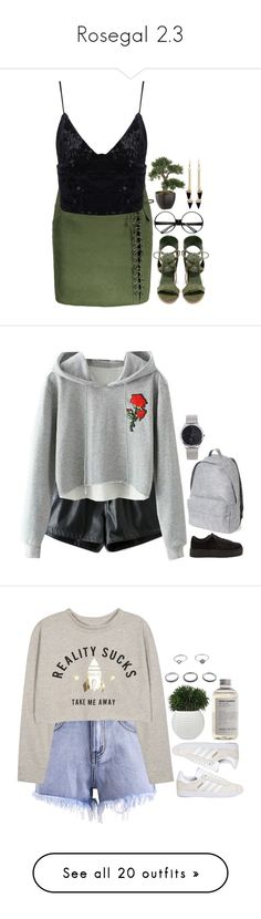 """""""Rosegal 2.3"""" by emilypondng ❤ liked on Polyvore featuring rosegal, ZeroUV, So Me, adidas, ASOS, Case-Mate, Distinctive Designs, Gucci, David Szeto and adidas Originals"""