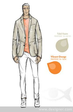 Top Colors for Mens Fashion for Spring 2013