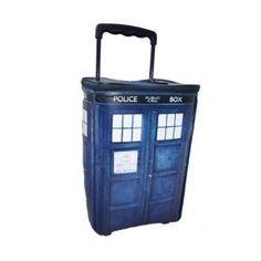 Tardis suitcase