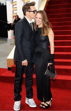Robert and Susan Downey