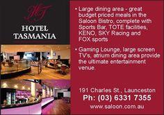 Hotel Tasmania, Launceston